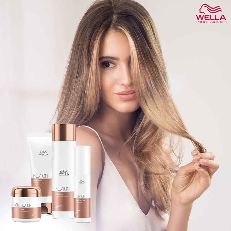 Wella Fusion- die neue Serie gegen Haarbruch