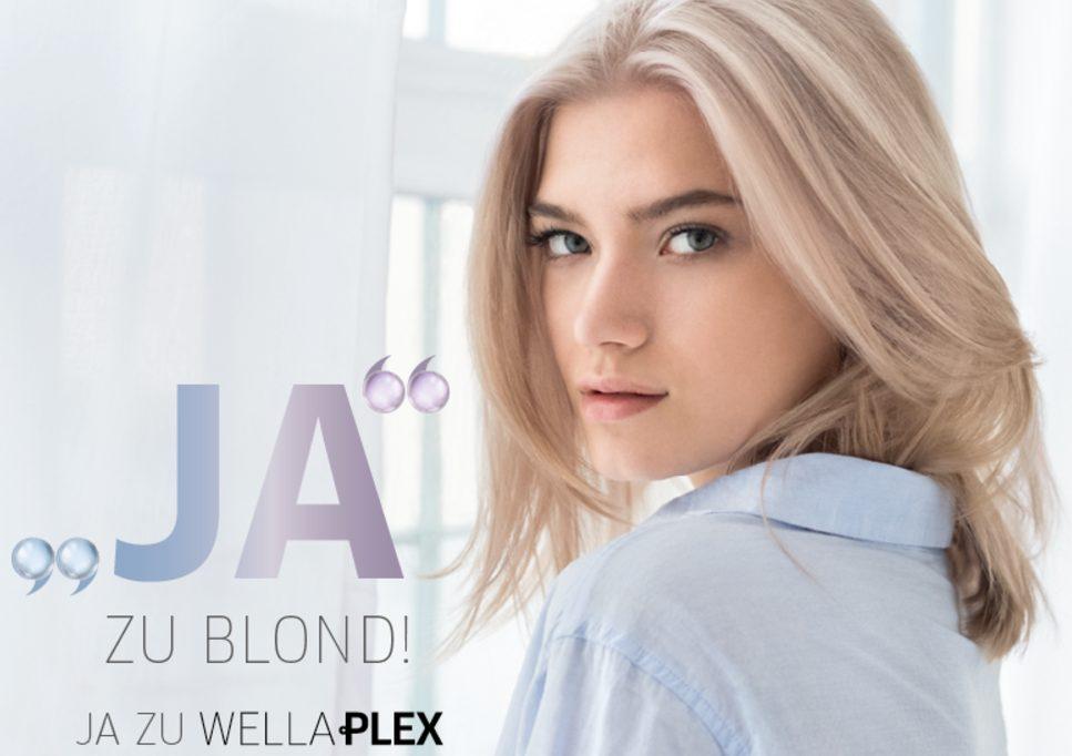 Sagen Sie JA zu Blond und Farbe mit Wellaplex