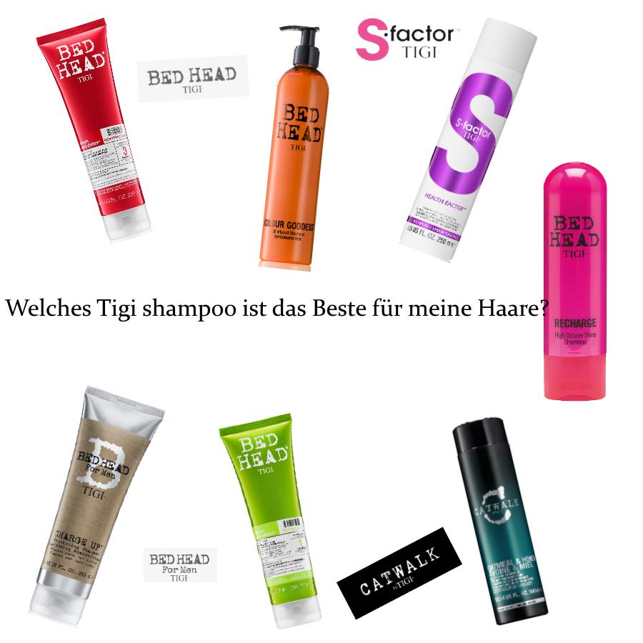 Welches Tigi shampoo ist das Beste für meine Haare?