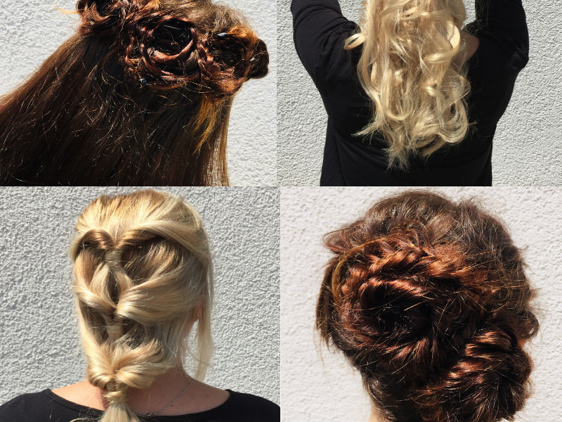 Summerhair! Rosebraids und Co.