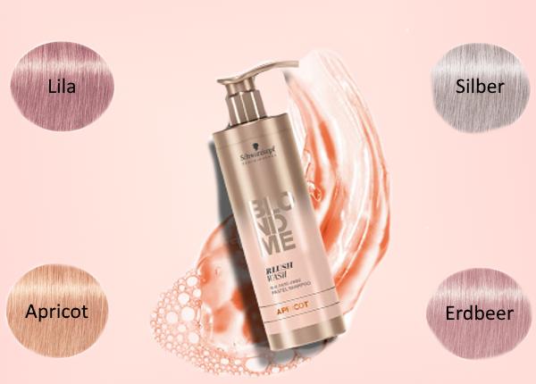Waschen Sie sich Pastelltöne ins Haar!