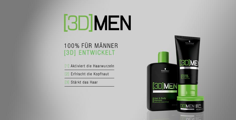 Neues für Jederman(n) – Schwarzkopf 3D Men