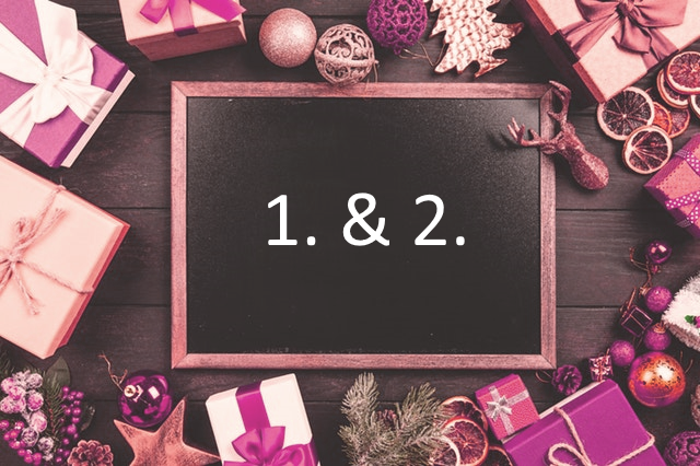 Adventskalender Türchen 1&2