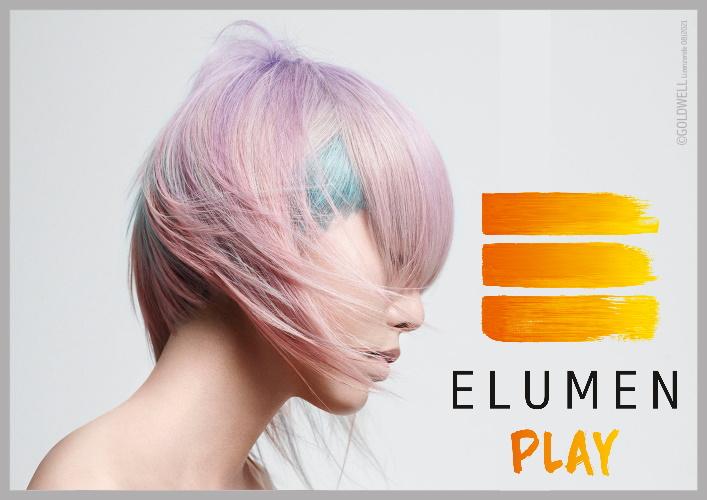 DRÜCK PLAY UND LEG LOS – Goldwell Elumen Play