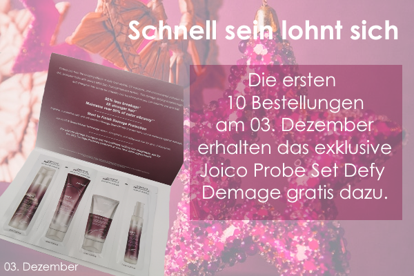 03. Dezember – Joico Defy Demage Probe Set