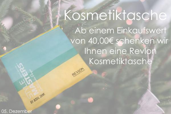 05. Dezember – Revlon Kosmetiktasche