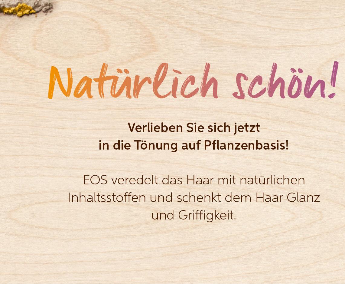 05.06 ist Tag der Umwelt – Eos Pflanzenhaarfarbe