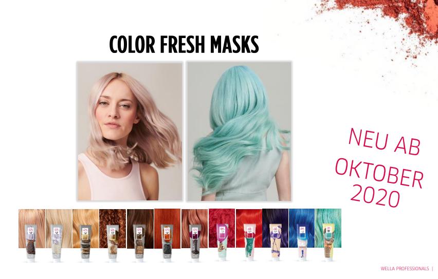 Strahlen Sie mit dem Herbst um die Wette mit Wella Color Fresh Masken