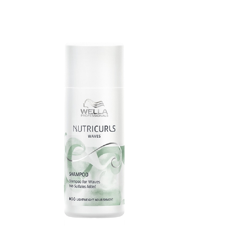 Wella Nutricurls Shampoo Waves 50ml SALE