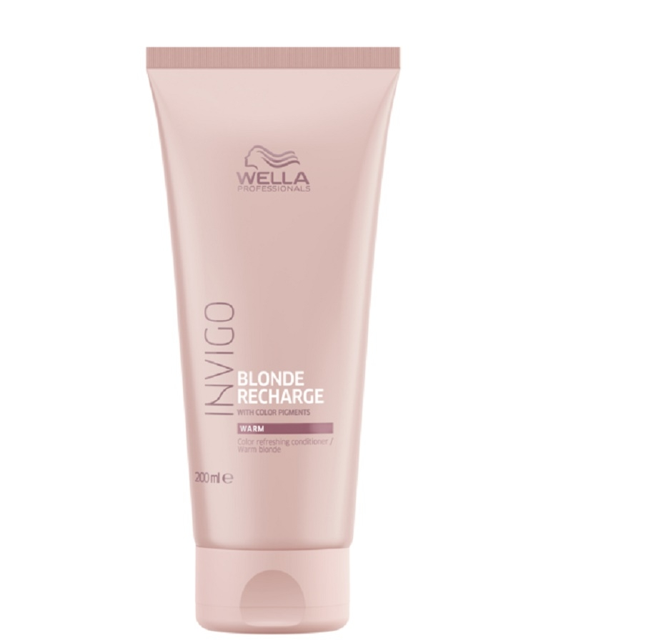 Wella Invigo Blonde Recharge Warm Blonde Color Refreshing Conditioner 200ml