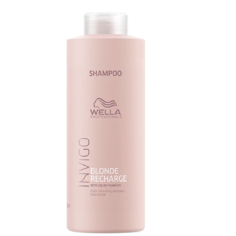 Wella Invigo Blonde Recharge Cool Blonde Color Refreshing Shampoo 1000ml