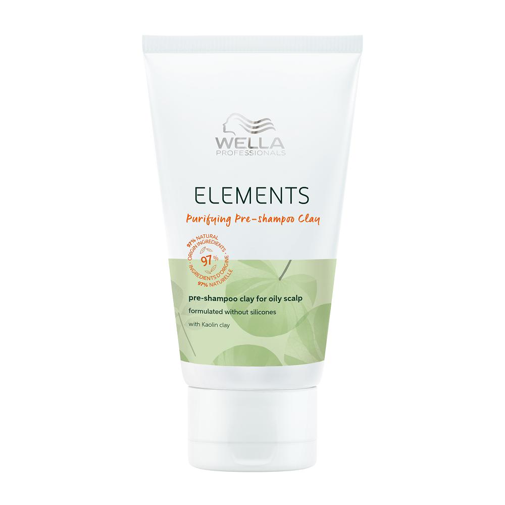 Wella Elements Purifying Pre-Shampoo Clay 70ml