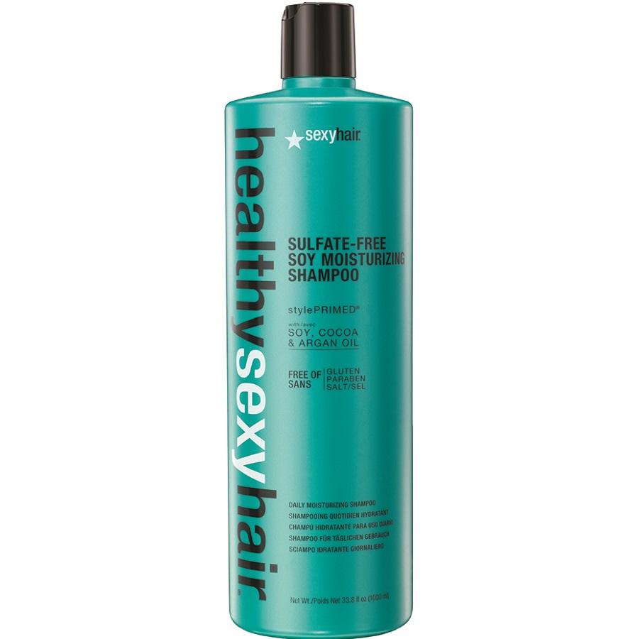 sexyhair HEALTHY Sulfate-Free Soy Moisturizing Shampoo 1000ml
