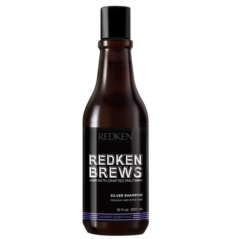 Redken Brews Silver Charge Shampoo 300ml