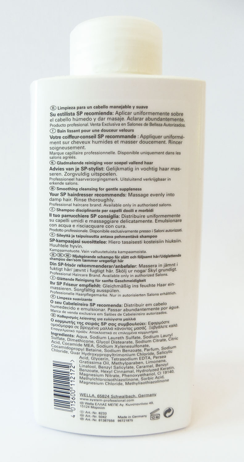 SP Smoothen Shampoo 1000ml