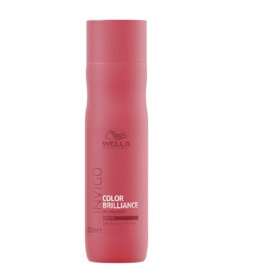 Wella Invigo Color Brilliance Shampoo Coarse 250ml