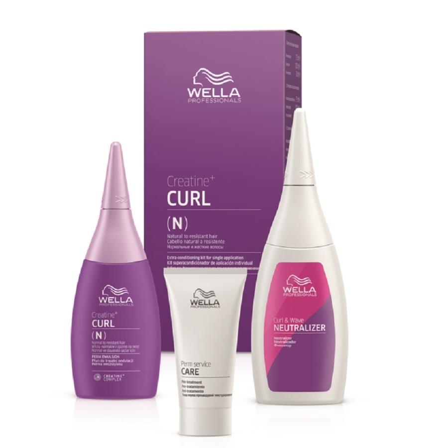 Wella Texture Plex Creatine+ Curl N Hair Kit Group